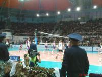 Игровой момент Матч звезд по волейболу